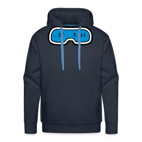 skibril boom - Mannen Premium hoodie