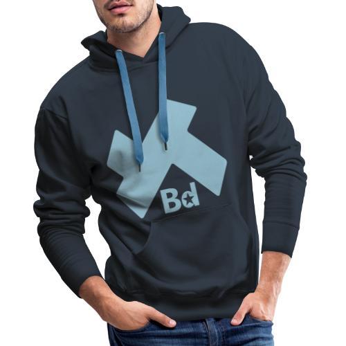 KKBD - Sweat-shirt à capuche Premium pour hommes