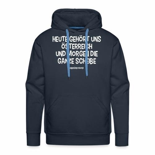 Scheibe Österreich - Männer Premium Hoodie