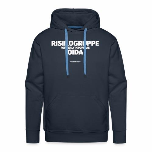 Risikogruppe Oida - Männer Premium Hoodie