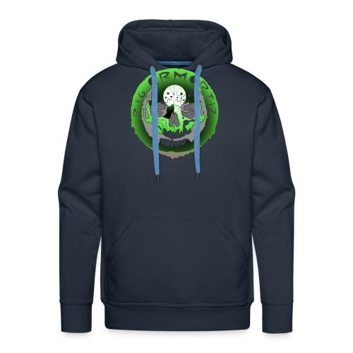 Rigormortiz Metallic Green Design - Men's Premium Hoodie