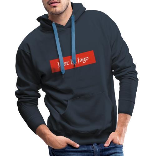 Just In Jago - Sweat-shirt à capuche Premium pour hommes
