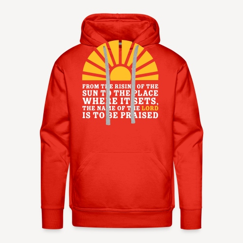 FROM THE RISING OF THE SUN - Men's Premium Hoodie