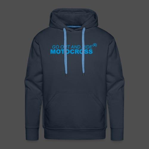 ride motocross bk - Men's Premium Hoodie