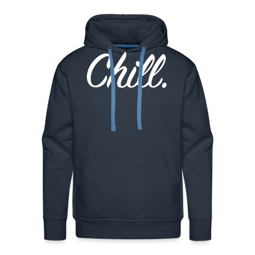 Chill_Black - Men's Premium Hoodie
