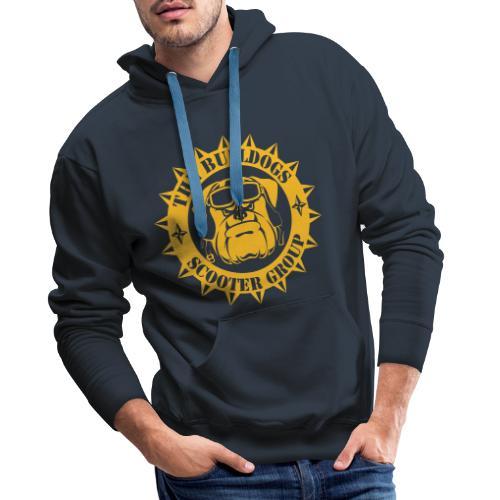 Bulldogs Scooter Group - Sweat-shirt à capuche Premium pour hommes