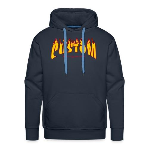 logo cb02 transparent - Sweat-shirt à capuche Premium pour hommes