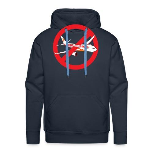 Flygskam - Honte de prendre l'avion - Sweat-shirt à capuche Premium pour hommes