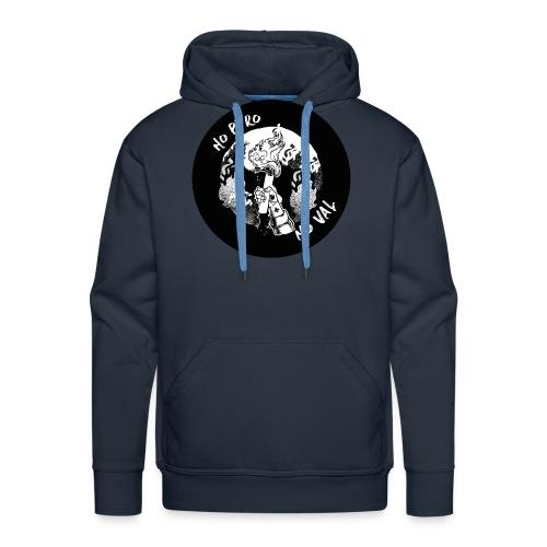 nopyro noval noir HD 01 - Sweat-shirt à capuche Premium pour hommes