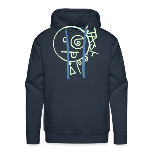 Wasted Face - Men's Premium Hoodie