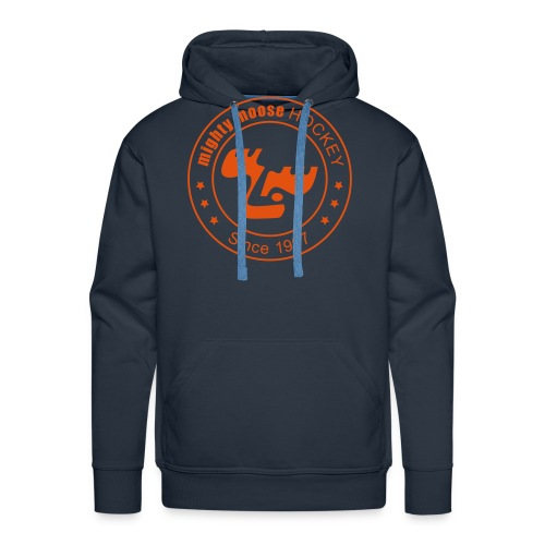 moose logo since1997 orange - Männer Premium Hoodie