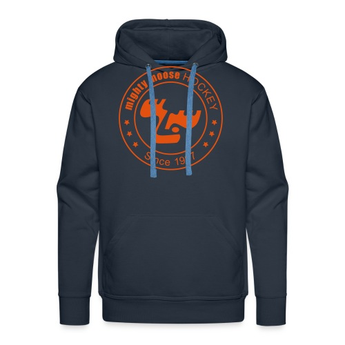 moose logo since1997 orange - Männer Premium Hoodie