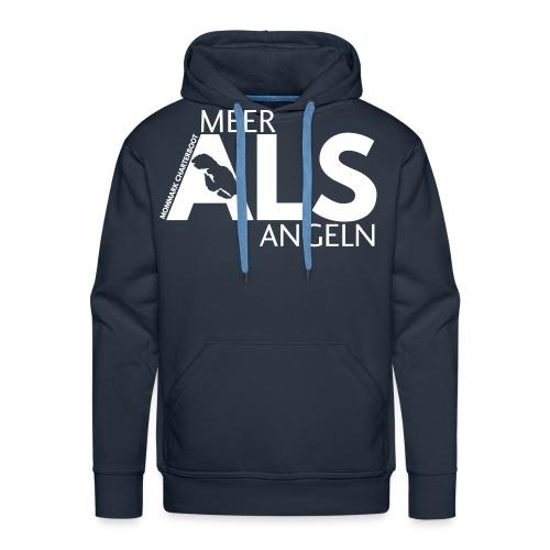 MEER_ALS_ANGELN - Männer Premium Hoodie
