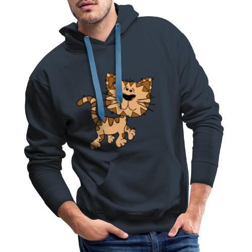 Cat - Männer Premium Hoodie
