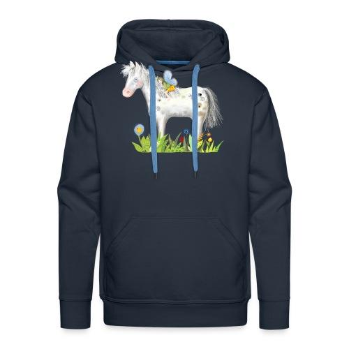 Fee. Das Pferd und die kleine Reiterin. - Männer Premium Hoodie