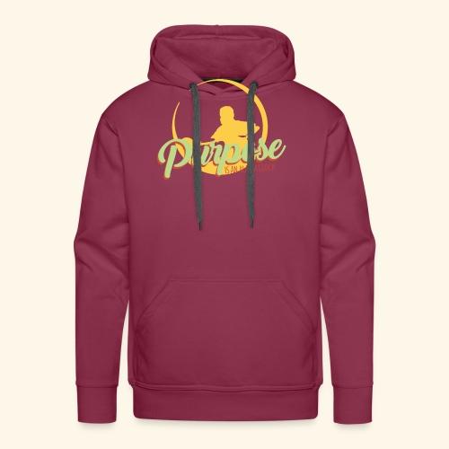 Purpose is an alarm clock to keep reminding you - Männer Premium Hoodie