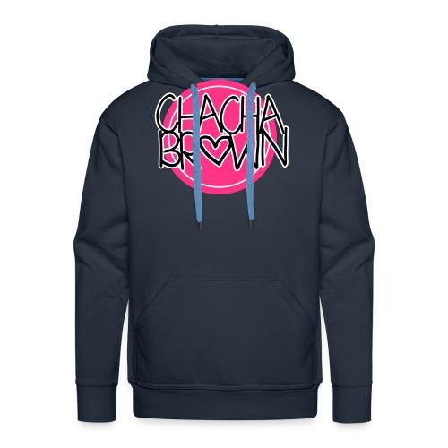 Chach Brown Big Logo - Mannen Premium hoodie