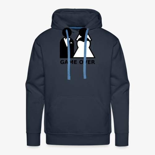 T-Shirt Game Over Junggesellenabschied - Männer Premium Hoodie