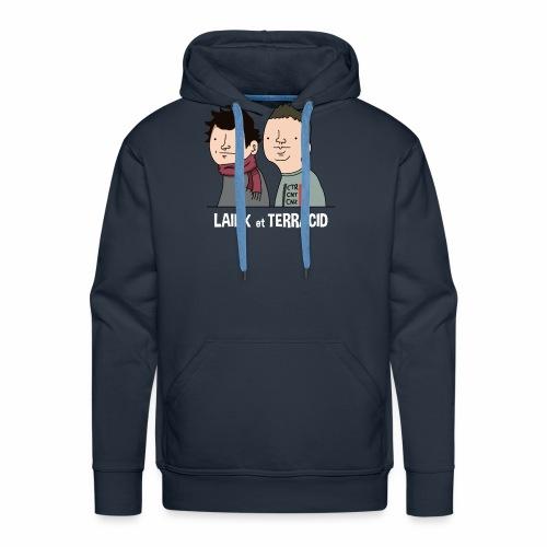 Laink et Terracid - Sweat-shirt à capuche Premium pour hommes