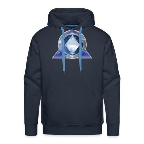 kosmische Pyramide - Männer Premium Hoodie