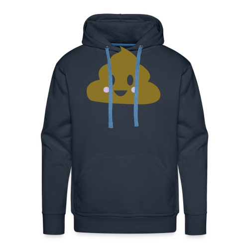 crotte ou crème - Sweat-shirt à capuche Premium pour hommes