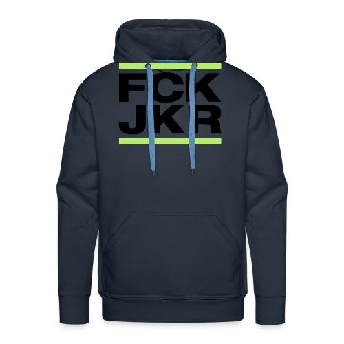 FCK JKR - Sudadera con capucha premium para hombre