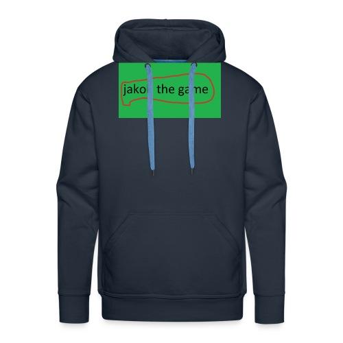 jakobthegame - Herre Premium hættetrøje