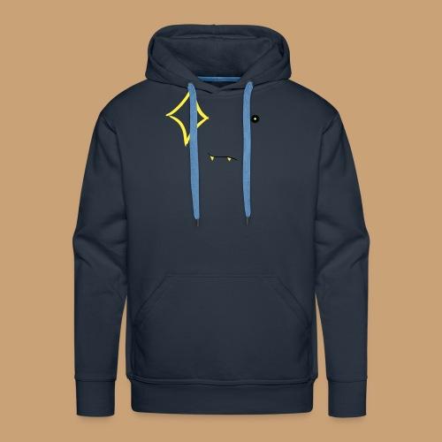 Scur , Face of Diamond - Sweat-shirt à capuche Premium pour hommes
