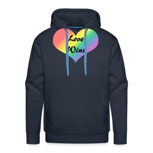 Love Wins - Men's Premium Hoodie