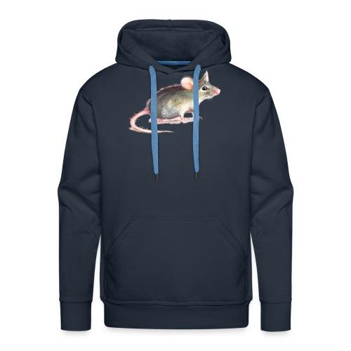 Kleine graue Maus - Männer Premium Hoodie