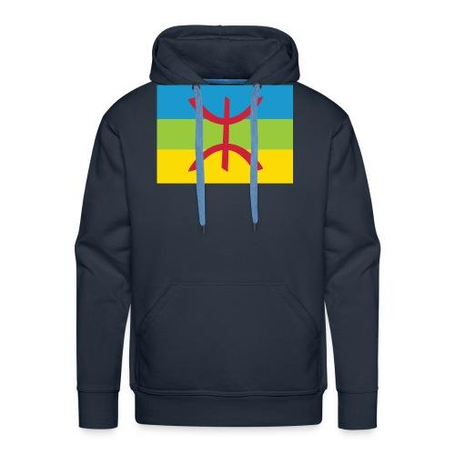 Amazigh Flag Clean - Mannen Premium hoodie