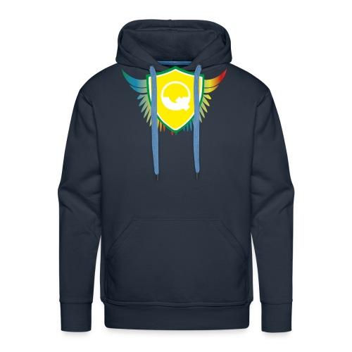 Logo Quicky Angel Color - Sweat-shirt à capuche Premium pour hommes
