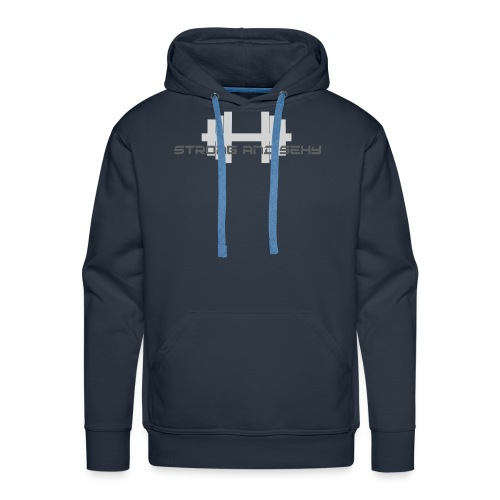 sasdumbell3 png - Mannen Premium hoodie