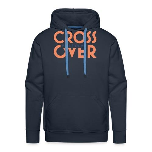 crossover 2019 festival logo couleur 01 - Sweat-shirt à capuche Premium pour hommes