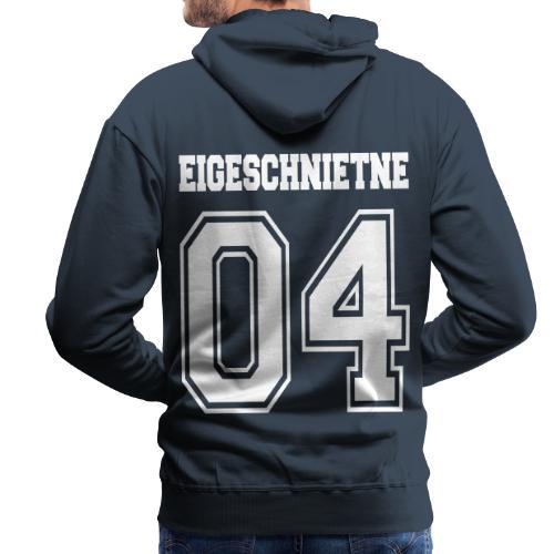 Eigeschnietne 04 - Männer Premium Hoodie
