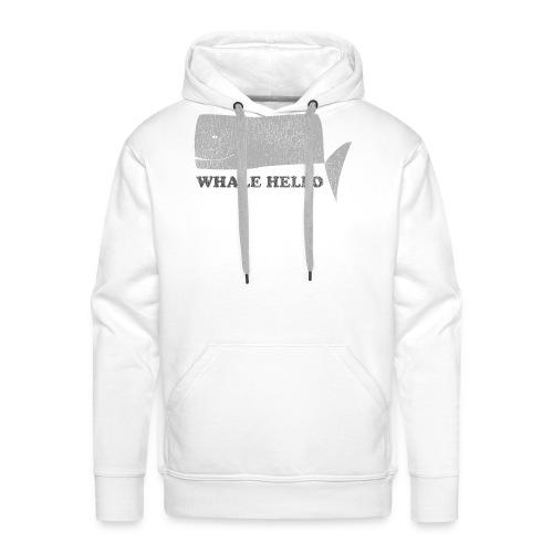 Whale Hello - Men's Premium Hoodie