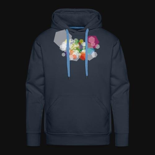 Abstartct artwork - Sweat-shirt à capuche Premium pour hommes