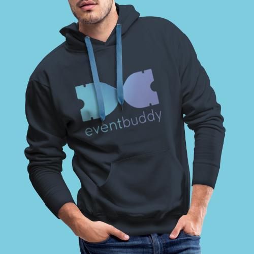 Eventbuddy in Farbe - Männer Premium Hoodie