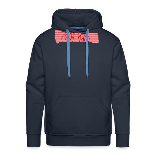 abderyckie linie - Bluza męska Premium z kapturem