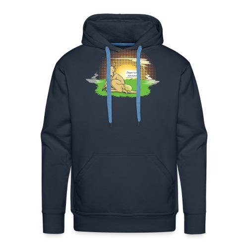 Australie VS Nouvelle Zélande - Sweat-shirt à capuche Premium pour hommes