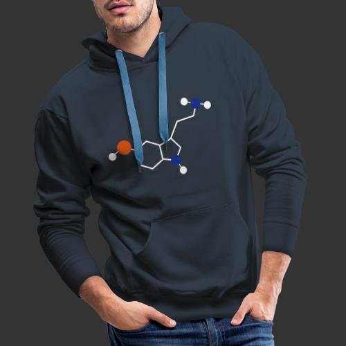 Serotonin - Sweat-shirt à capuche Premium pour hommes