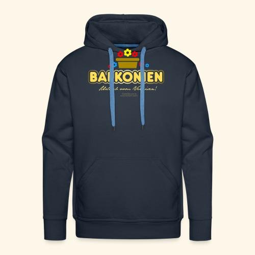 Balkonien T Shirt - Männer Premium Hoodie