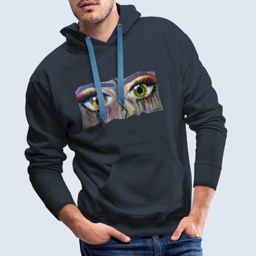 NEU! Open Eyes - Männer Premium Hoodie