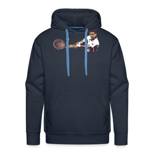 Tennis coup droit 2 mains - Sweat-shirt à capuche Premium pour hommes