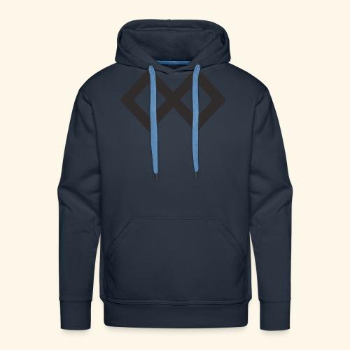TenX Logo - Männer Premium Hoodie