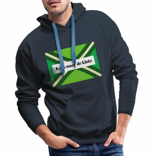 Kats naor de klote - Mannen Premium hoodie