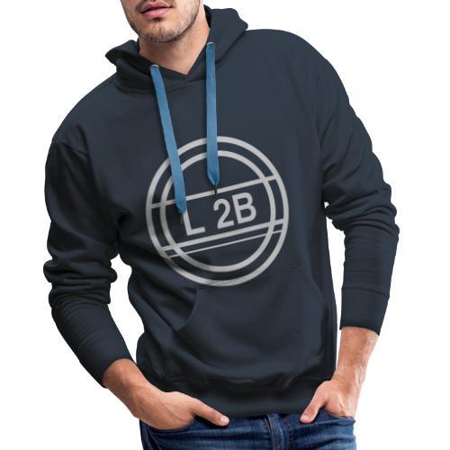 grijs 1 1 - Mannen Premium hoodie