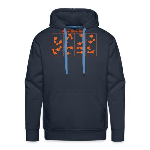 dilequeno - Sweat-shirt à capuche Premium pour hommes