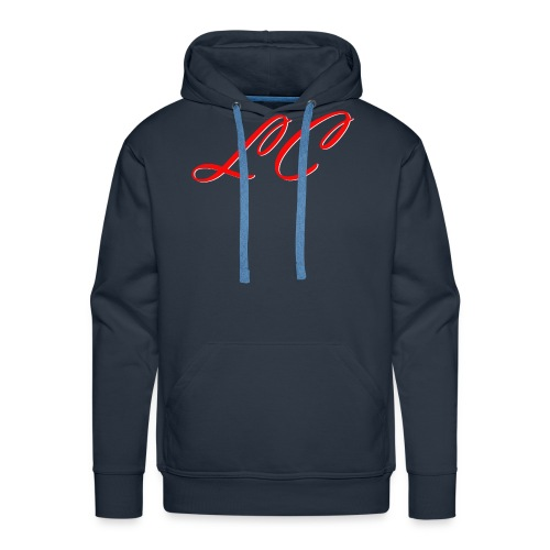 lc_red - Sweat-shirt à capuche Premium pour hommes