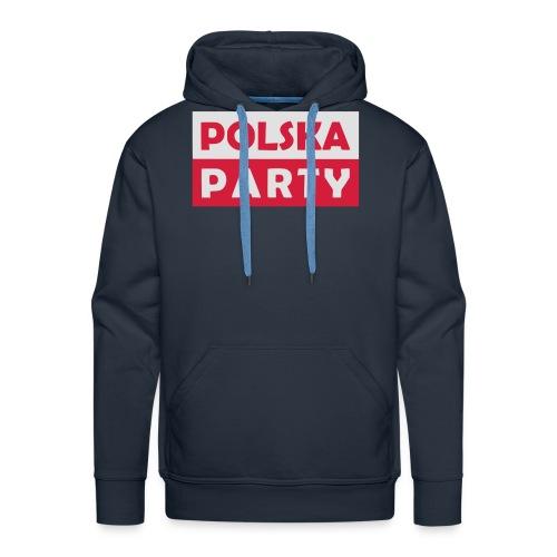 Polska Party / Die Party-Geschenkidee - Männer Premium Hoodie